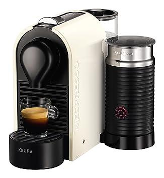 Krups Nespresso U & Milk Independiente Máquina espresso 0.7L Crema de color - Cafetera (