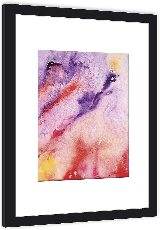 GaviaStore Art Prints - con Marco 70x50 cm - Cuadros Impresiones Pintura Cartel Foto Mueble hogar impresión decoración casa Sala Poster Cuadro Imagen Enmarcado Wall Art Picture (Lucida)