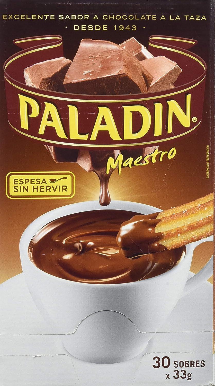 Paladin Chocolate Instante - Paquete de 30 x 33 gr - Total: 990 gr: Amazon.es: Amazon Pantry