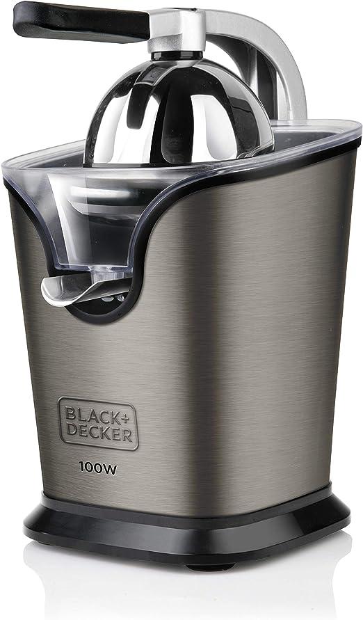 Black+Decker BXCJ100E Exprimidor con palanca, 100 W, 250 ...