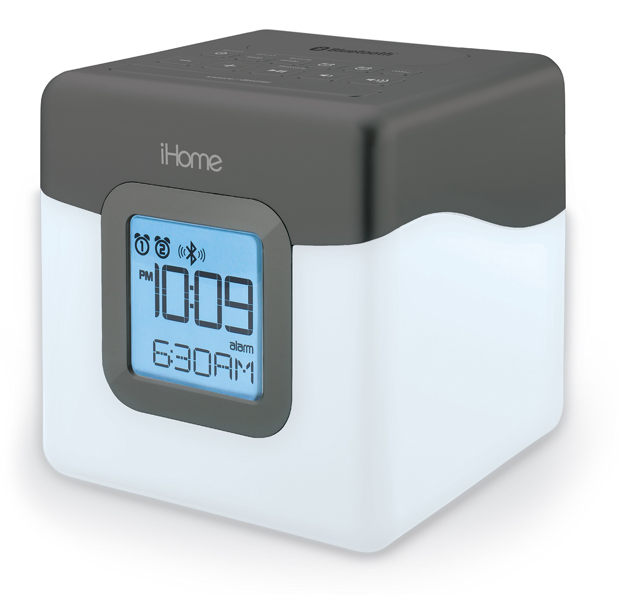 Sound Design Ihome Ibt28gc Bluetooth Color Changing Dual