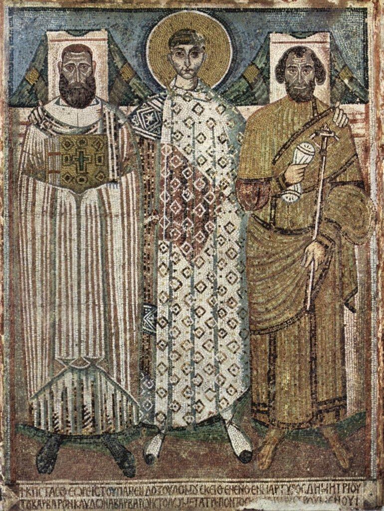 Lais Puzzle Meister Meister Meister der Demetrius-Kirche in Saloniki - HL. Demetrius und die Stifter 2000 Teile f9be2e