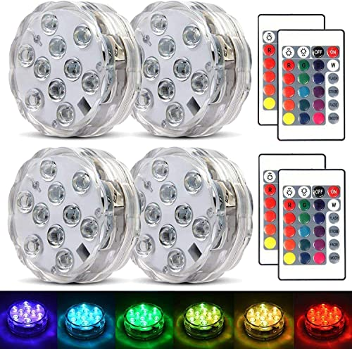 Submersible-Led-Lights-Waterproof-Multi-color-Battery-Remote-Control