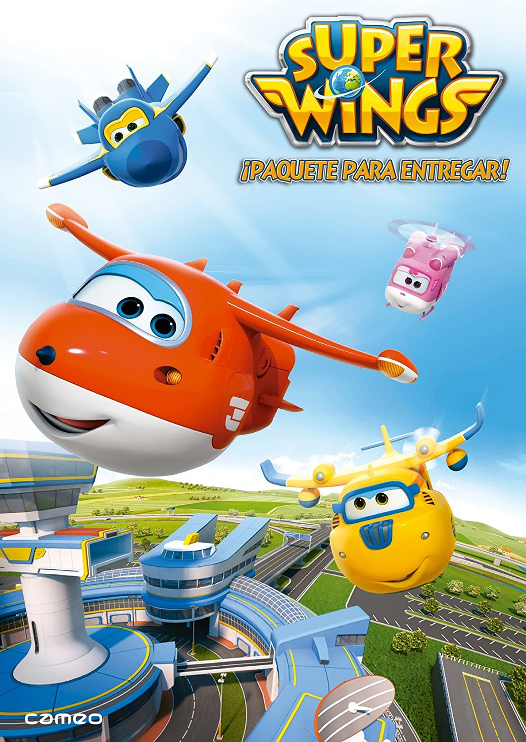 Super Wings ¡paquete entregar! [DVD]: Amazon.es: Dibujos animados, Josh Selig, Dibujos animados: Cine y Series TV