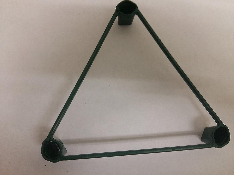 500x Yuzet 17cm Pflanze Unterstützung Triangle wachsen Ring Split Flower Garden Kindergarten