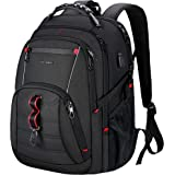 KROSER Travel Laptop Backpack 17.3 Inch XL Computer Backpack Stylish College Backpack with USB Charging Port & RFID Pockets W