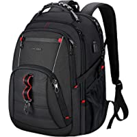 KROSER Travel Laptop Backpack 17.3 Inch XL Computer Backpack Stylish College Backpack with USB Charging Port & RFID…