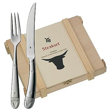 Wmf Steakbesteck 12 Teilig Für 6 Personen Cromargan Edelstahl