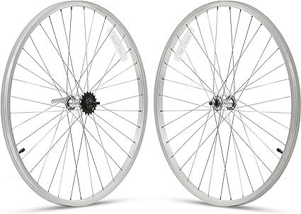 """Beach Cruiser bike 26/""""x1.75 Rear /& Front Clicher Wheels vanilla"""