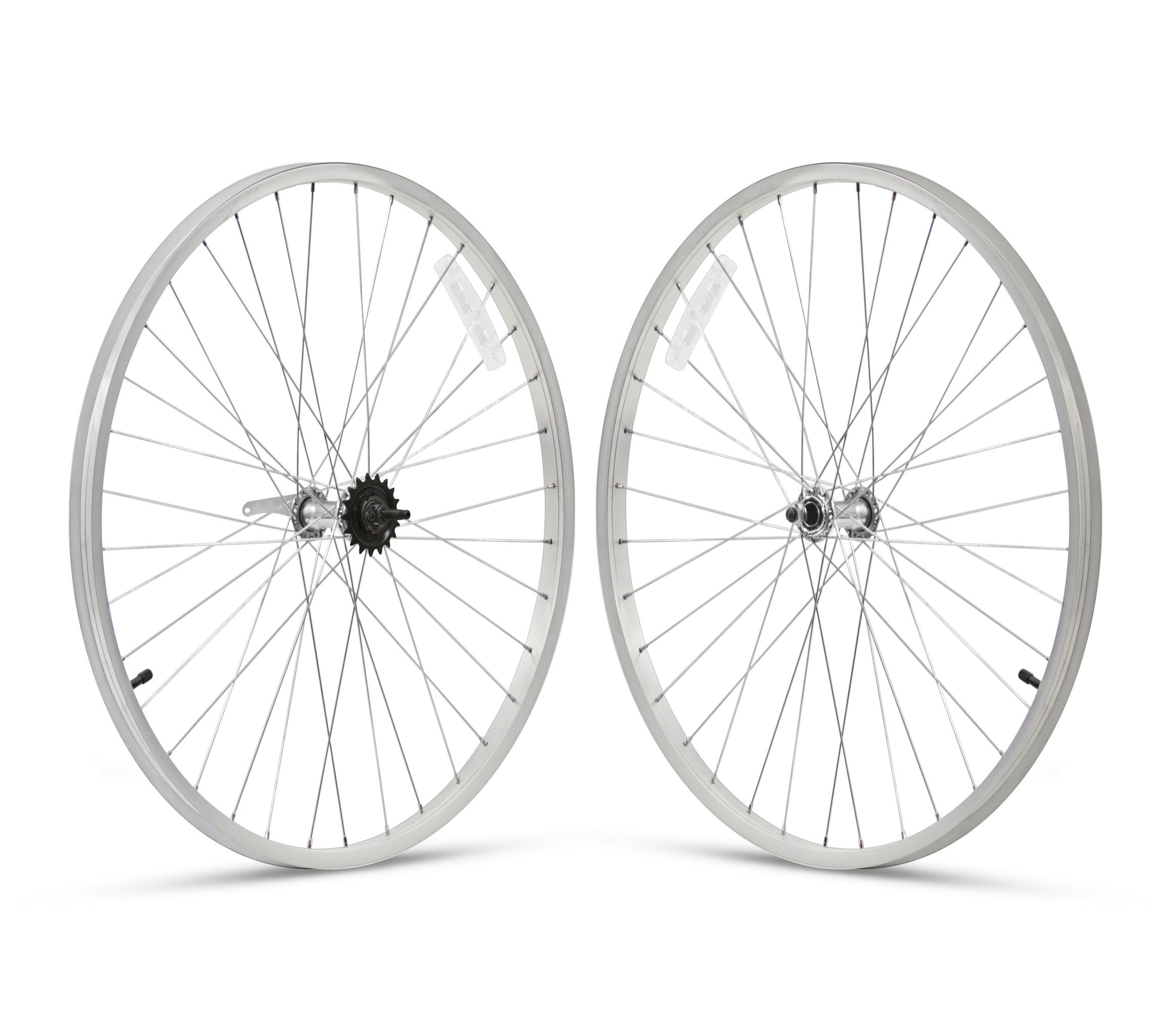 Firmstrong 3-Speed Beach Cruiser Bicycle Wheelset, Front/Rear, Silver, 26'' by Firmstrong