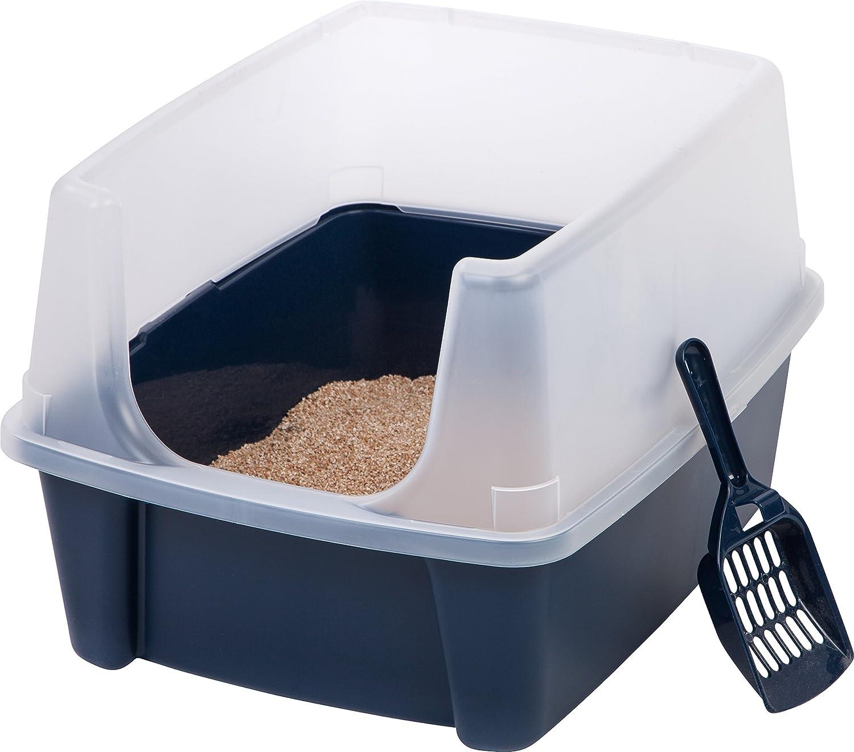 IRIS Cat Litter Box with Scoop