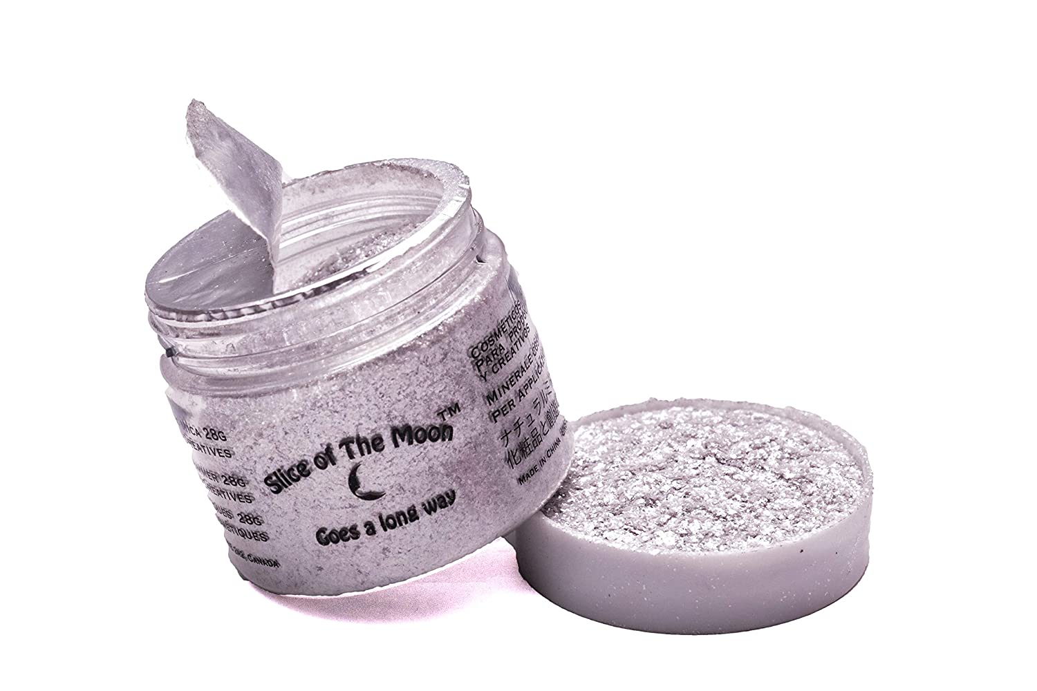 Crystal Flashing Pearl Mica 1oz, High Glitter Factor, Cosmetic Mica, Slice of the Moon EKS Entertainment Group LYSB008H3NJOQ-ELECTRNCS