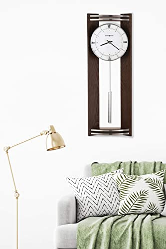 Howard Miller Deco Wall Clock 625-695 Black Coffee Finish