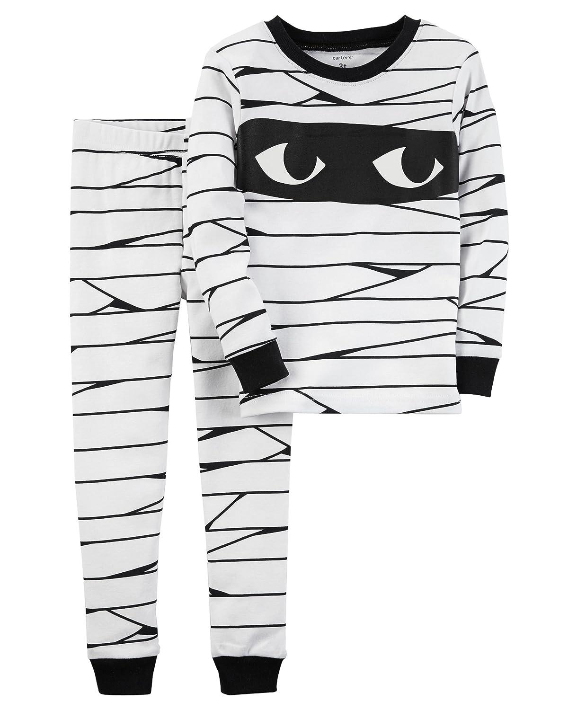 9ebb80aefebf Amazon.com  Carter s Baby Boys  Skeleton Halloween PJs  Clothing