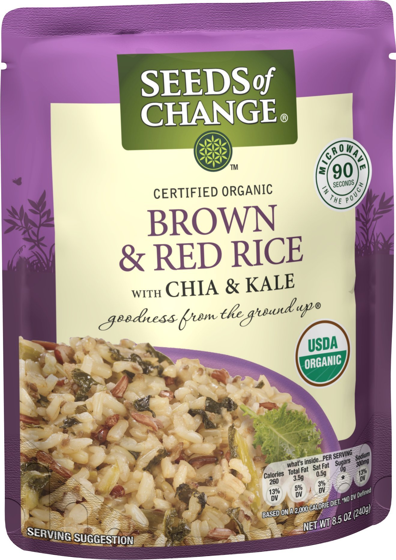 SEEDS OF CHANGE Organic Quinoa, Brown & Red Rice (12pk)