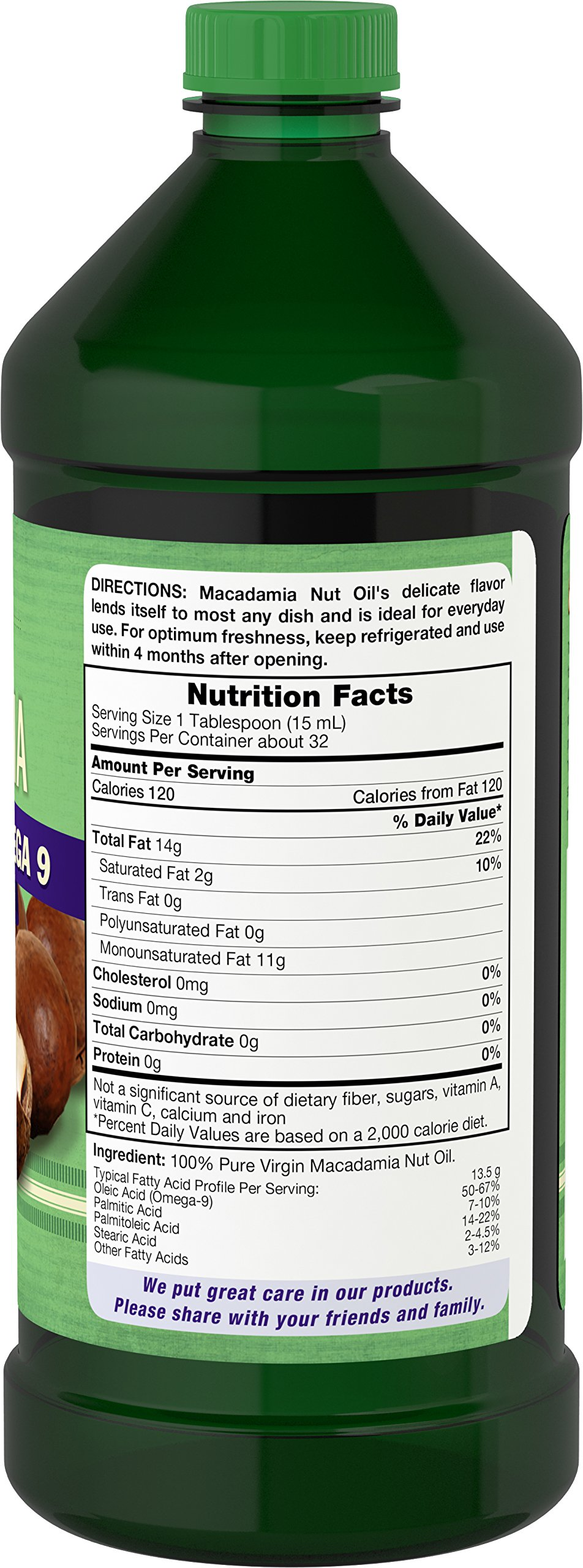Carlyle Macadamia Nut Oil 3 Pack 16oz Cold Pressed by Carlyle (Image #3)