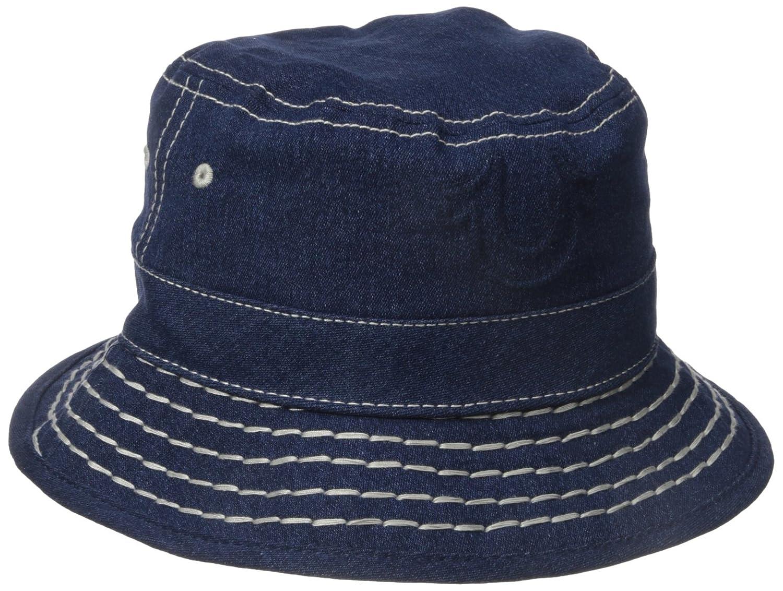 4c29d0c7e Amazon.com: True Religion Men's Super T Denim Bucket Hat, Dark ...