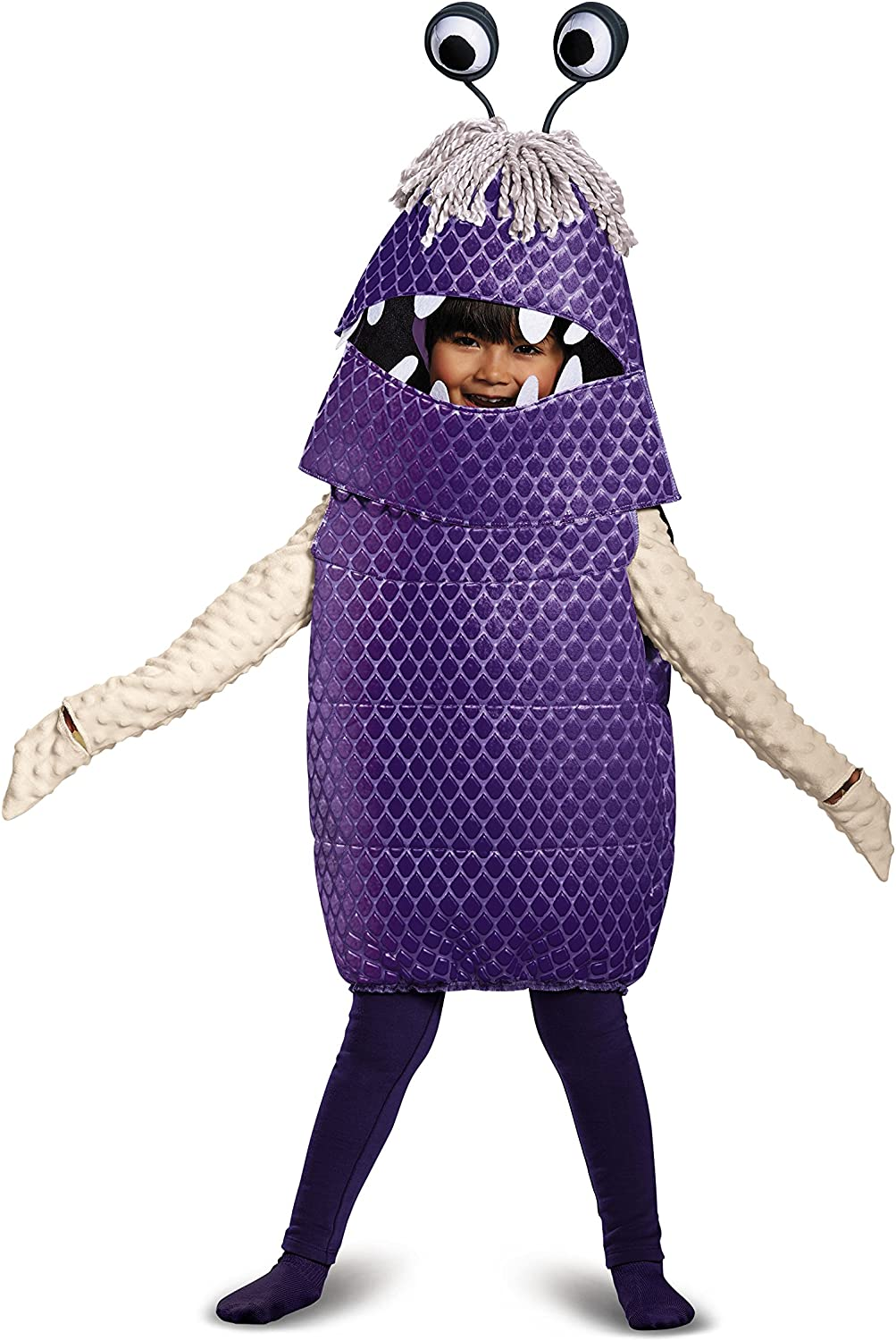 Amazon Com Boo Deluxe Toddler Costume Purple Small 2t Toys Games