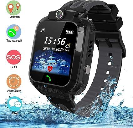 bhdlovely Smartwatch Niños IP67 Reloj Inteligente A Prueba de Agua ...