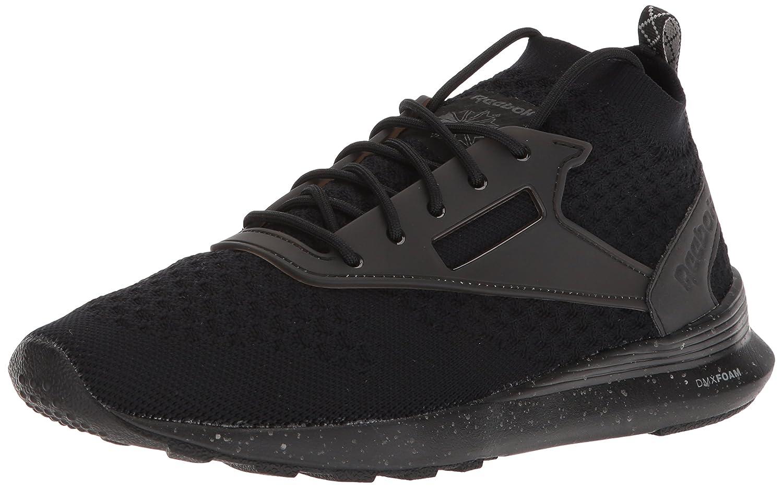 noir Flint gris blanc 46 EU Reebok Chaussures de Course pour Hommes