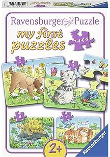 Geduldspiel Puzzles 6 erste Puzzles Zoo Spiel Deutsch 2013