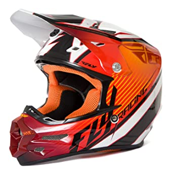 Fly Racing Casco F2 Carbon Fastback Naranja/Black/White