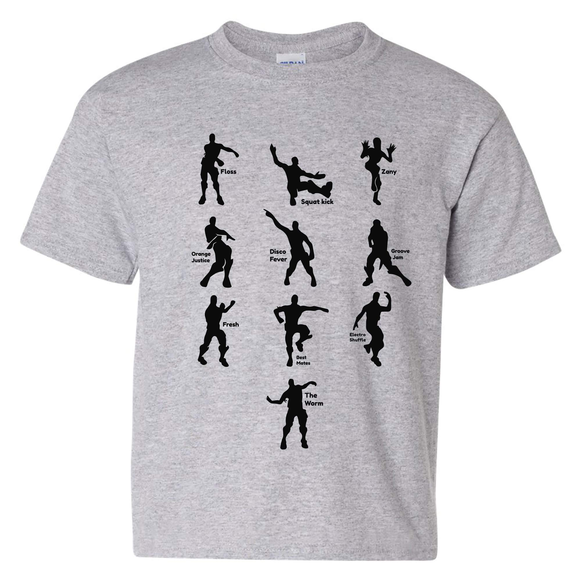 4cea809a UGP Campus Apparel Kids Emote Dances - Funny Youth T Shirt product image