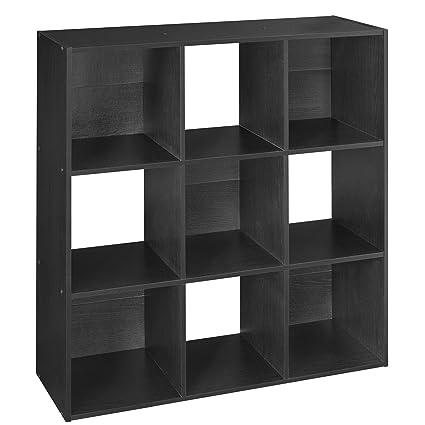 ClosetMaid 78016 Cubeicals Organizer, 9 Cube, Black