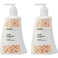 Amazon Brand - Solimo Antibacterial Handwash Liquid - 250 ml (Pack of 2)