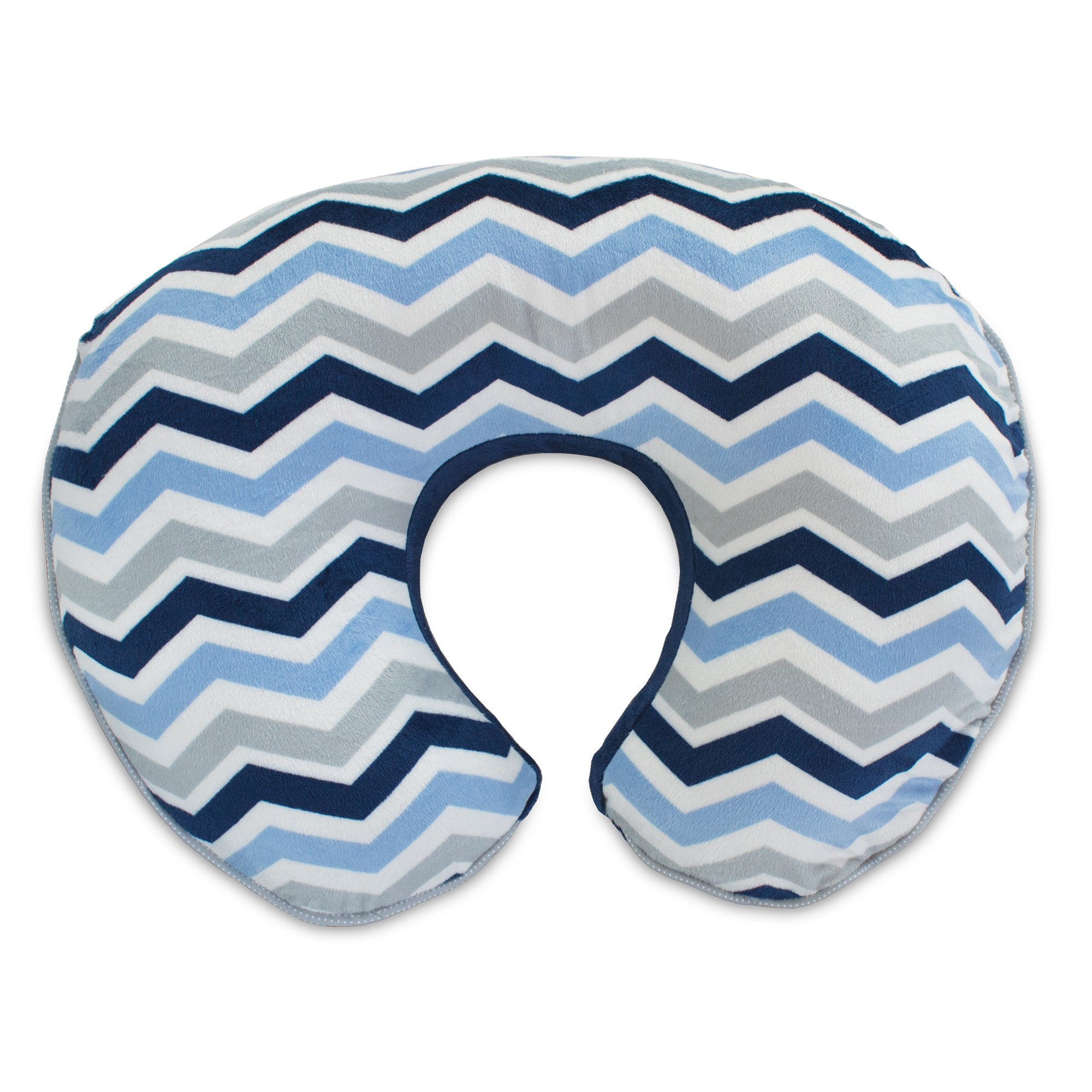 Boppy Pillow Slipcover, Boutique Navy Chevron