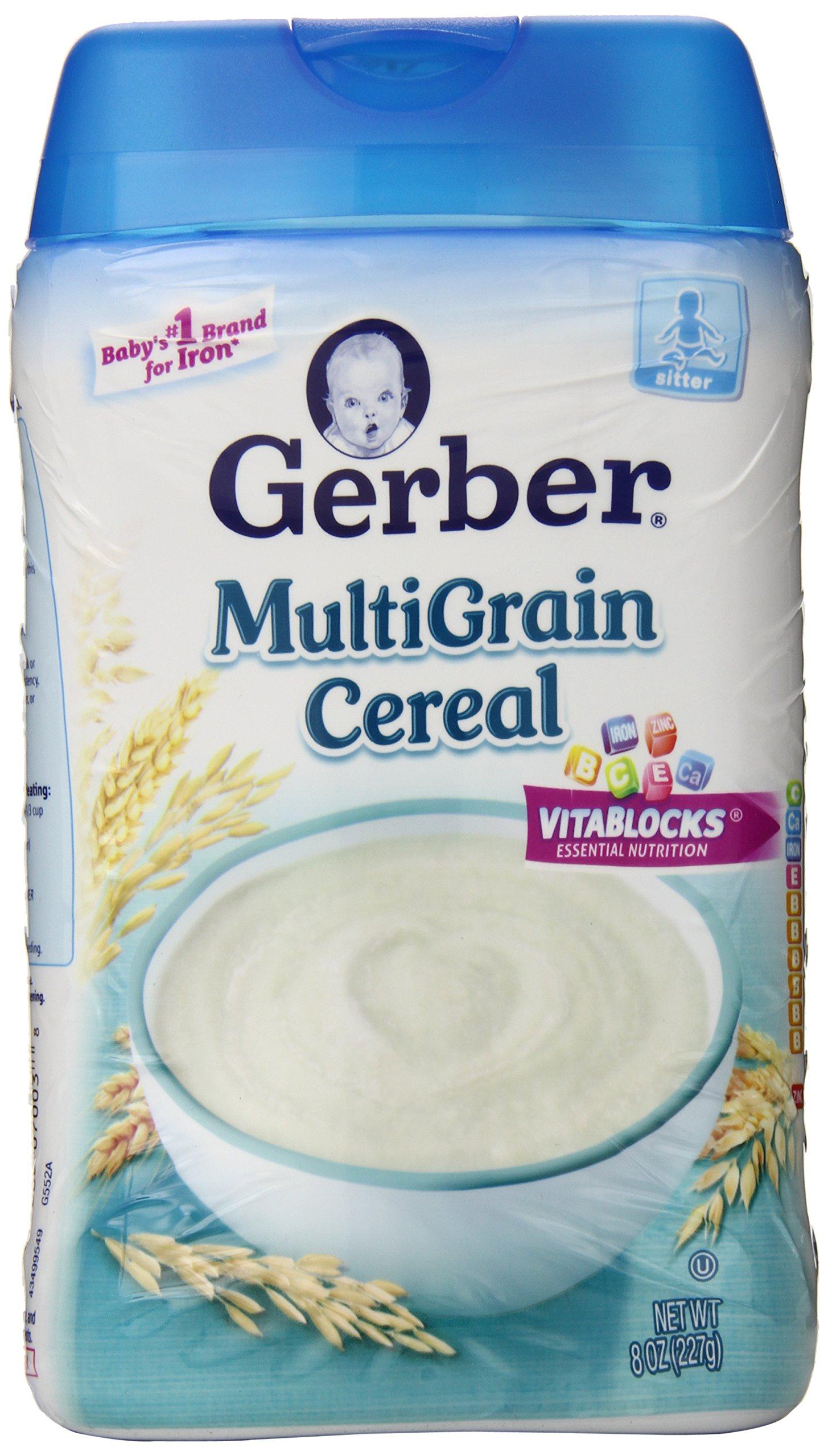 Gerber 1st Foods Baby Cereal - Multigrain - 8 oz