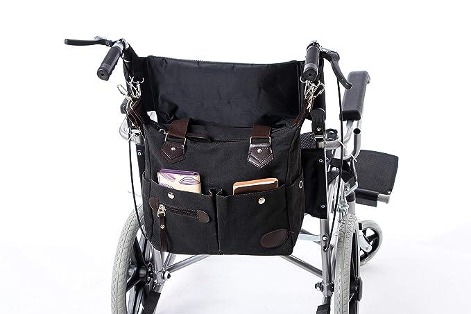 Bolsa de almacenamiento para silla de ruedas, bolsa de transporte para silla de ruedas, accesorios para silla de ruedas, mochila de lona de almacenamiento ...
