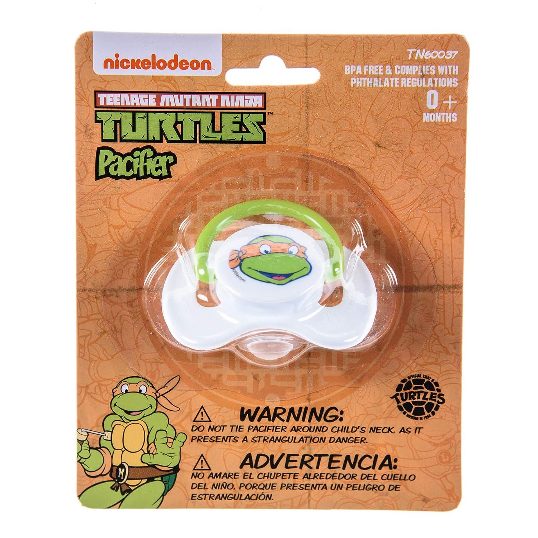 Amazon.com : Nickelodeon Ninja Turtles Pacifier 2 Pack for ...
