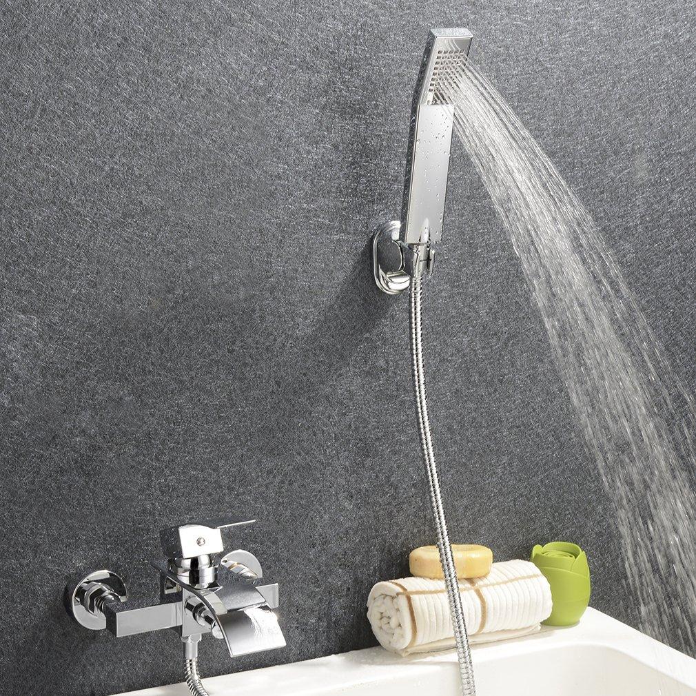 Kinse® Elegant Zeitgenössische Armatur Wasserfall Badewanne ... | {Armaturen badewanne wasserfall 42}