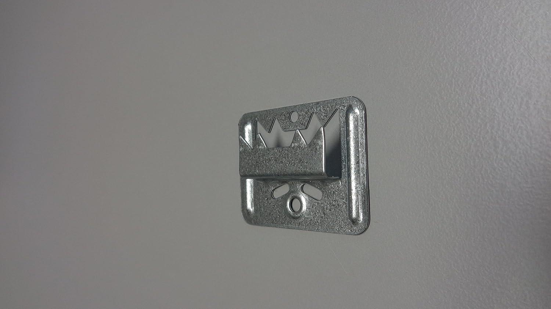 Zorro metal técnica Perfil Madera garra nº 4extra fuerte de banda de acero galvanizado para Nut/Muelle de montaje, 1pieza, 2–101–004–0002–20