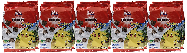 Arluy Galletas Minis Pokémon Choco - Paquete de 10 x 400 gr - Total: 4000 gr: Amazon.es: Alimentación y bebidas