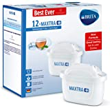BRITA MAXTRA+ Water Filter Cartridges, Compatible with BRITA Jugs, Helps with Reduction of Limescale and Chlorine, Pack…