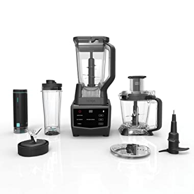 Ninja Smart Screen Blender and Food Processor with FreshVac Technology, 1400-Peak-Watt Base, 9 Auto-iQ Programs & Touchscreen Display (CT672V)
