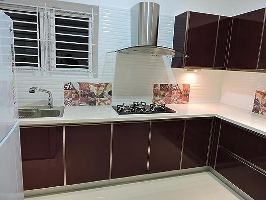 Elegant Modular Kitchen Small Size