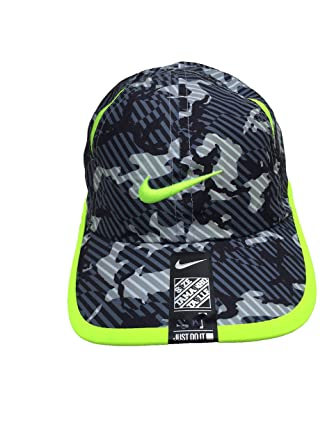 Nike Dri-Fit Swoosh Graphic - Gorra de béisbol ajustable.: Amazon ...