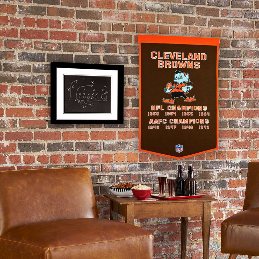 Winning Streak NFL Cleveland Browns Dynasty Banner