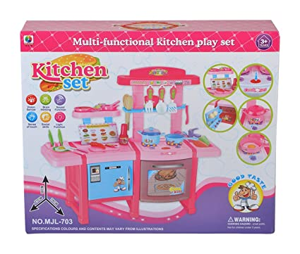 Buy Planet Of Toys Multifunctional Electronic Kitchen Set With Light