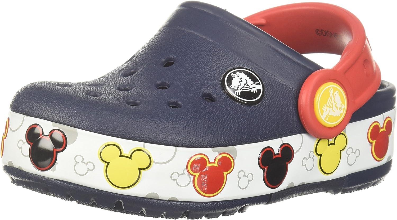 Crocs Kids Crocband Fun Lab Mickey Light-Up Clog