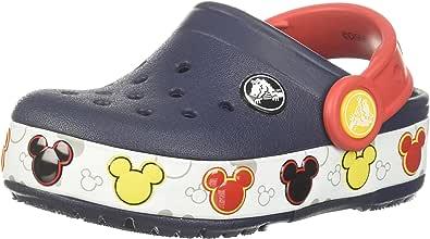 Crocs Boys Crocband Mickey FnLb Lights K Clogs & Mules