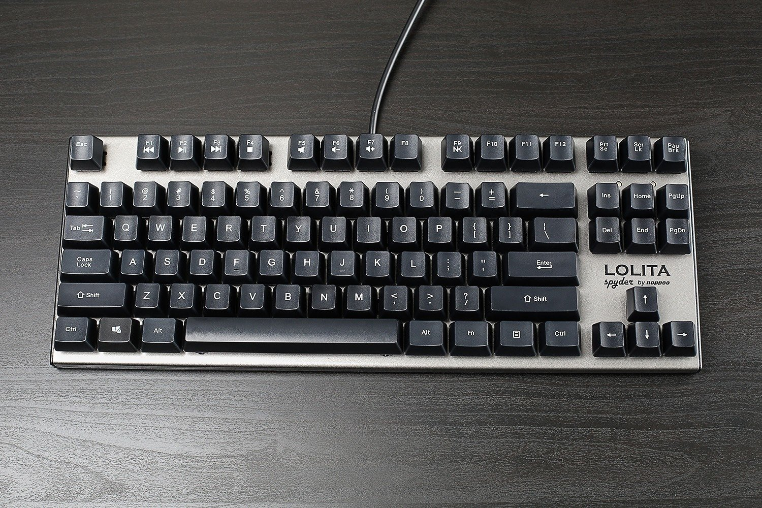 Amazon mechanical keyboard - Amazon Com Mechanical Keyboard Lolita Spyder 87 Kailh Blue Switch Computers Accessories