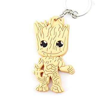 Groot - Guardianes de la Galaxia: Llavero - PVC: Amazon.es ...