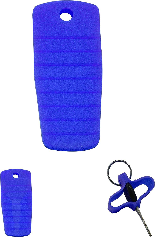 4PCS Orange NEX Performance Silicone Key Protector Covers