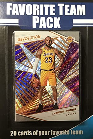 Los Angeles Lakers Factory - Juego de 20 cartas de equipo favorito ...