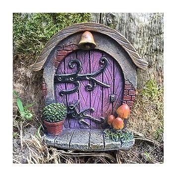 Prezents Com Miniatur Hobbit Pixie Elfe Fairy Tur Baum Garten