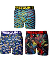 Freegun - Lot de 3 boxers - Garçon